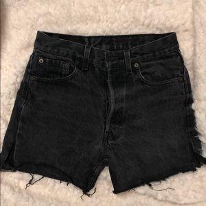 Levi Vintage Black Jean short